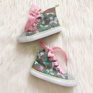 Cat & Jack Butterfly High Tops